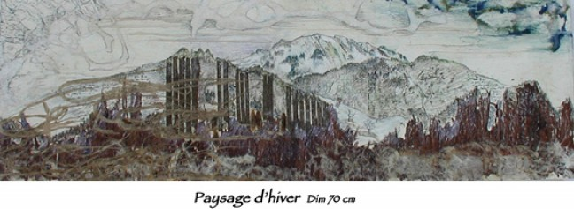 Paysage dhiver